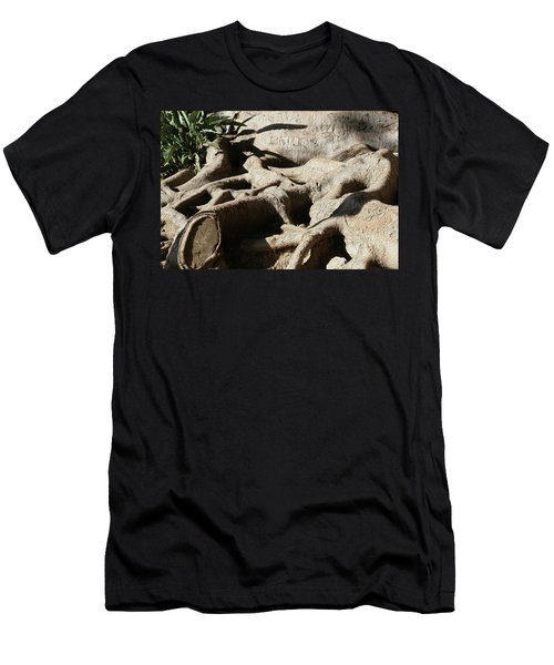 Roots And Graffiti Men's T-Shirt (Athletic Fit)