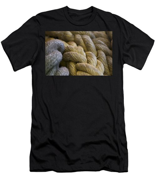 Rope  Men's T-Shirt (Athletic Fit)