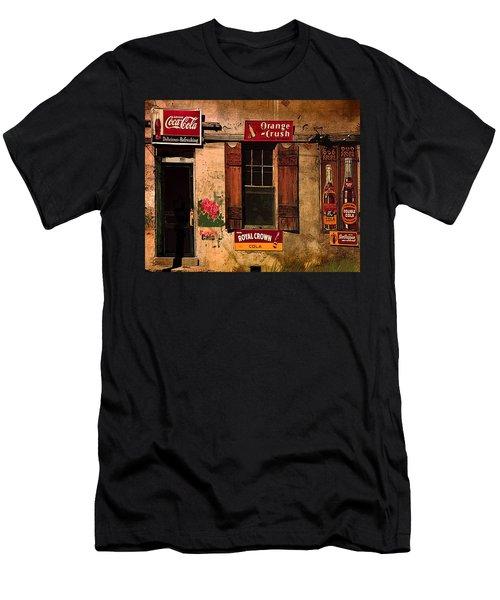Rosas Cafe Men's T-Shirt (Slim Fit) by J Griff Griffin