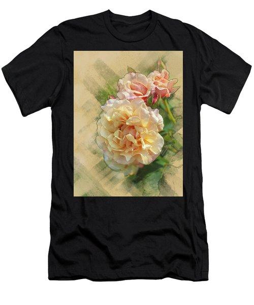 Rose 3 Men's T-Shirt (Athletic Fit)