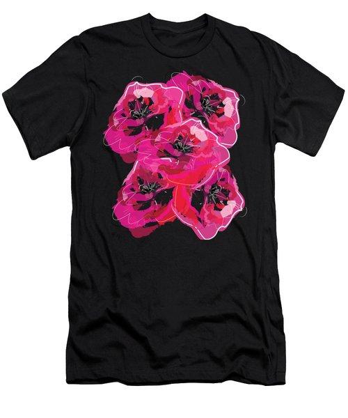 Rose Abundance Men's T-Shirt (Athletic Fit)