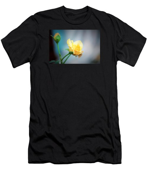 Rose Bling Men's T-Shirt (Athletic Fit)