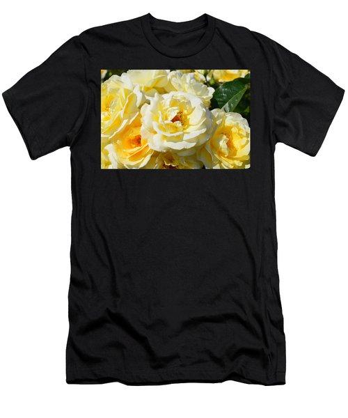 Rose Bush Men's T-Shirt (Athletic Fit)