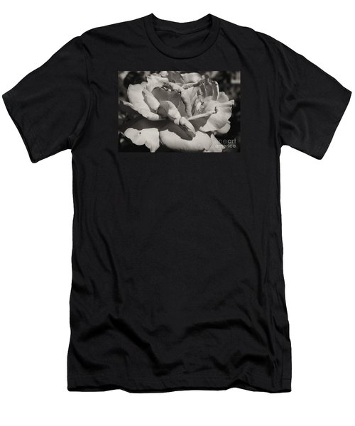 Men's T-Shirt (Slim Fit) featuring the photograph Rose by Cassandra Buckley