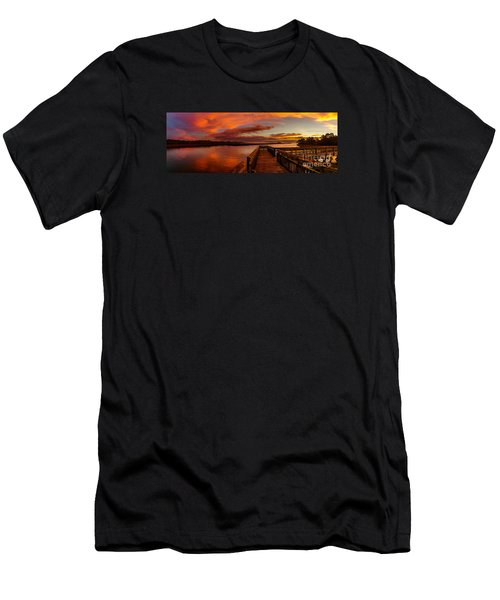 Rose Colored Classes Men's T-Shirt (Slim Fit) by David Smith