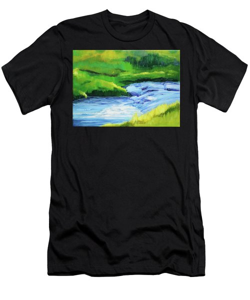 Rose Creek Summer Men's T-Shirt (Athletic Fit)