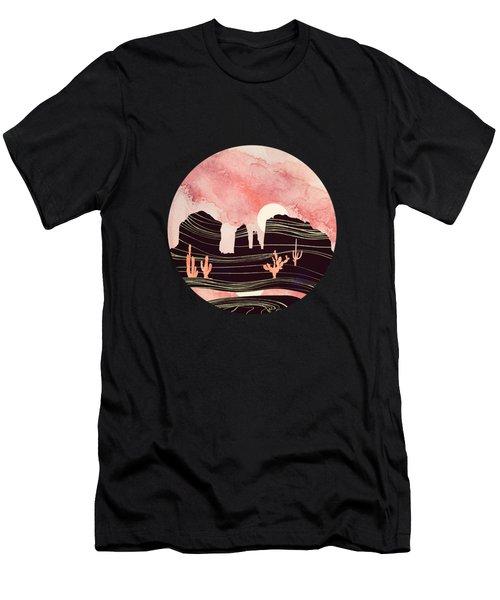 Rose Desert Men's T-Shirt (Athletic Fit)
