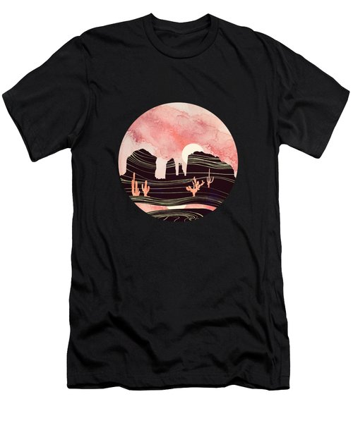Rose Desert Men's T-Shirt (Athletic Fit)