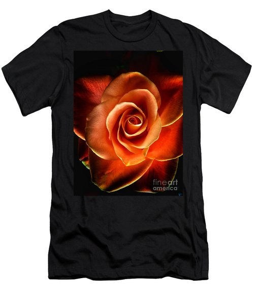 Men's T-Shirt (Athletic Fit) featuring the photograph Rose by Donald Paczynski