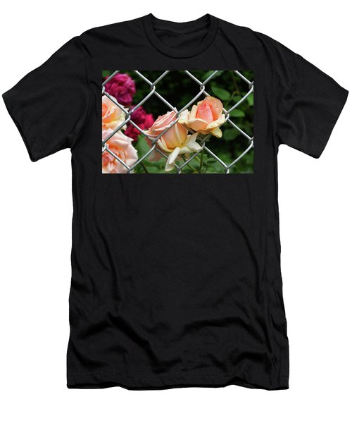 Rose Fence Men's T-Shirt (Athletic Fit)