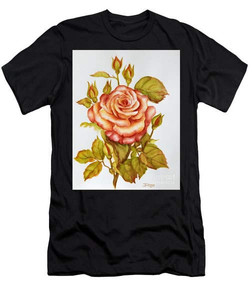 Rose For My Mom Men's T-Shirt (Athletic Fit)