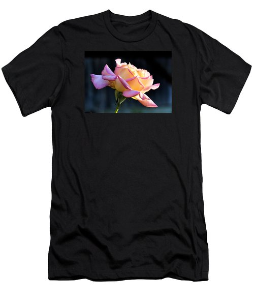 Rose In Sunshine Men's T-Shirt (Slim Fit) by Josephine Buschman