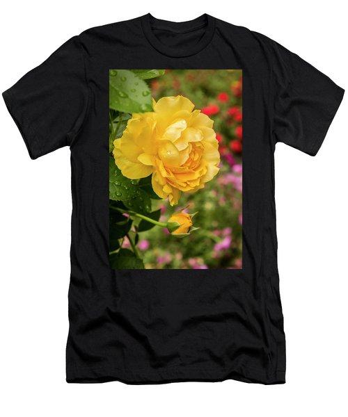 Rose, Julia Child Men's T-Shirt (Athletic Fit)