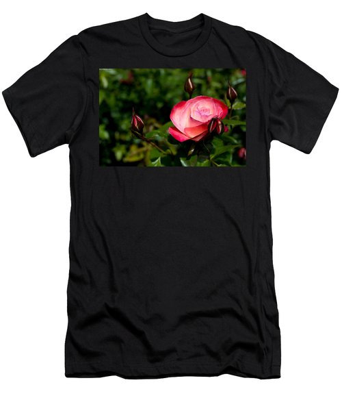 Rose Men's T-Shirt (Athletic Fit)