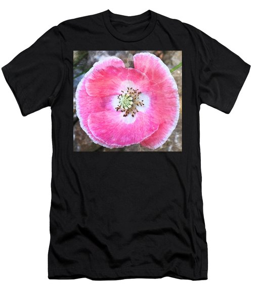 Rose Marble Men's T-Shirt (Athletic Fit)