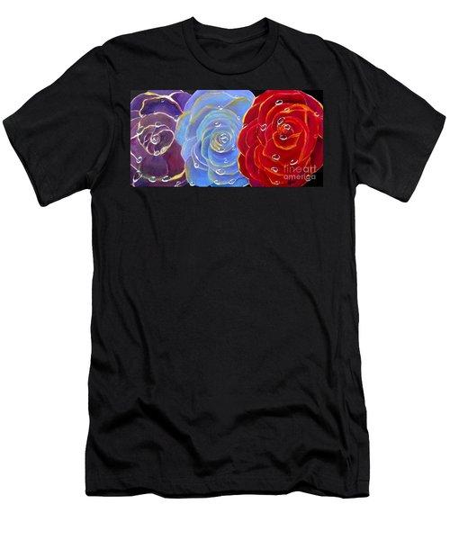Rose Medley Men's T-Shirt (Athletic Fit)