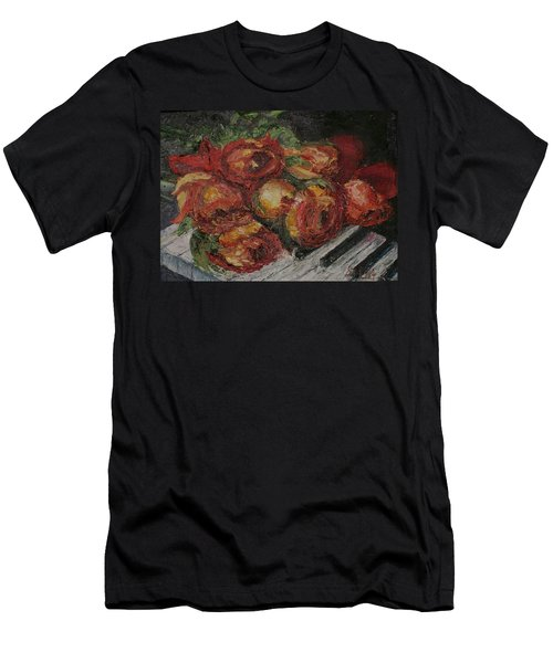 Rose Melody Men's T-Shirt (Athletic Fit)