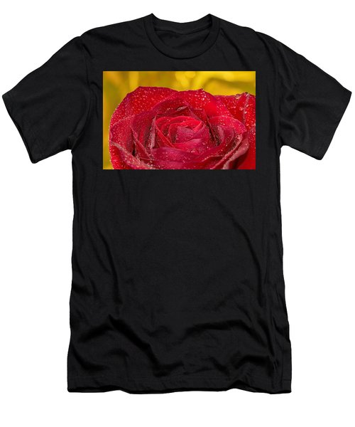 Rose N Gold Men's T-Shirt (Athletic Fit)