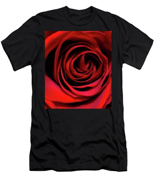 Rose Of Love Men's T-Shirt (Athletic Fit)