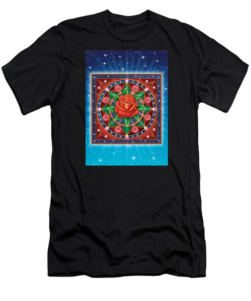 Rose - Pure Love Men's T-Shirt (Athletic Fit)