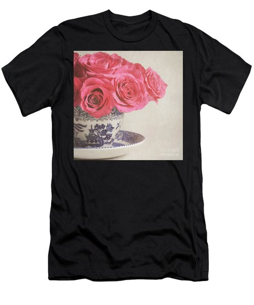 Rose Tea Men's T-Shirt (Athletic Fit)