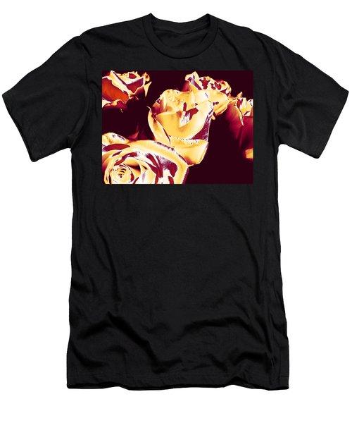 Roses #1 Men's T-Shirt (Athletic Fit)