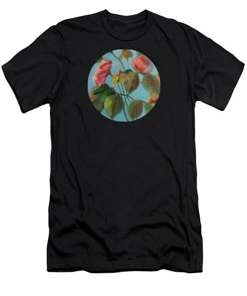 Roses And Wildflowers Men's T-Shirt (Athletic Fit)