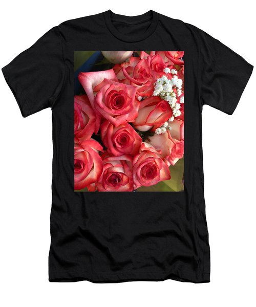 Roses For God Men's T-Shirt (Athletic Fit)