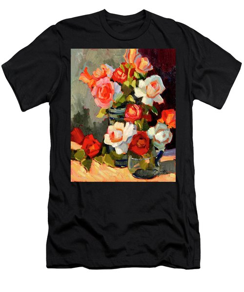 Roses From My Garden Men's T-Shirt (Athletic Fit)