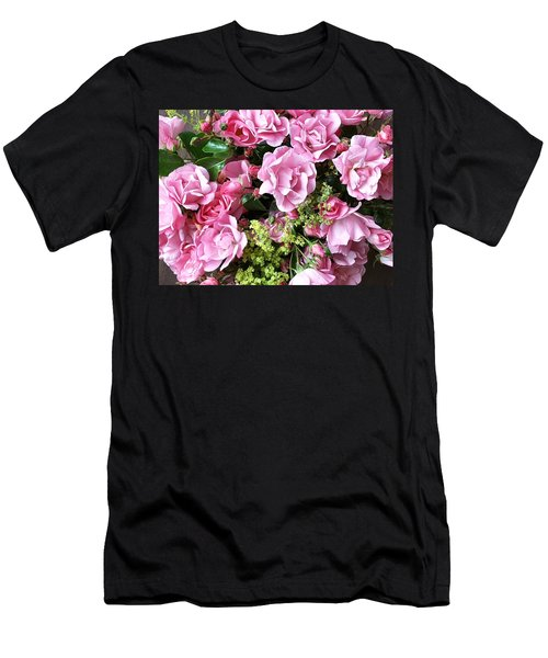 Roses From The Garden Men's T-Shirt (Athletic Fit)