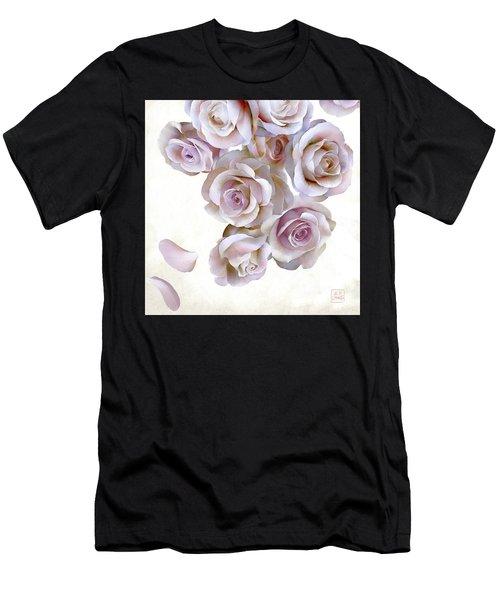 Roses Of Light Men's T-Shirt (Athletic Fit)