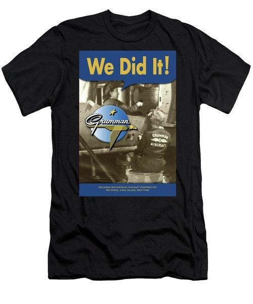Rosie The Riveter Men's T-Shirt (Athletic Fit)