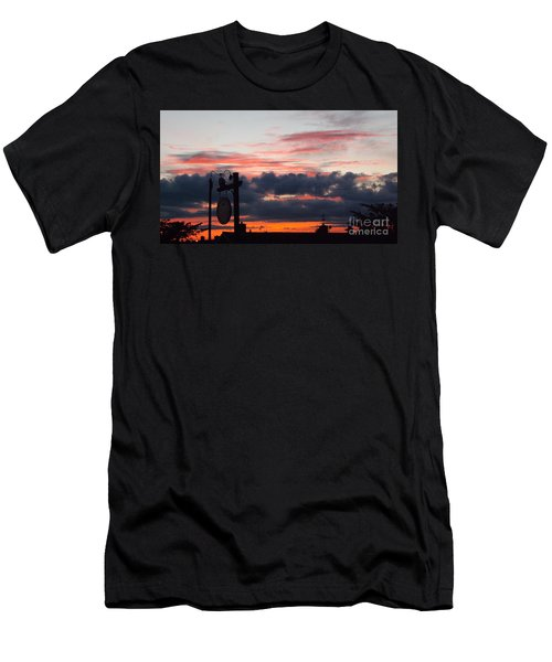 Rossington Sunset Men's T-Shirt (Athletic Fit)