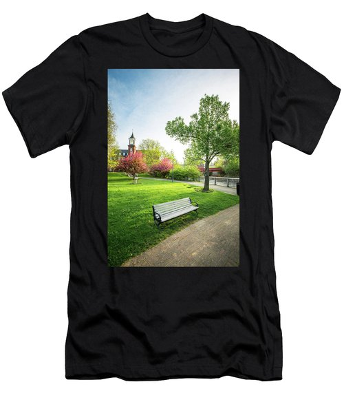 Rotary Park - Busiel Mill  Men's T-Shirt (Athletic Fit)