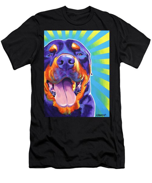 Rottweiler - Duncan Men's T-Shirt (Athletic Fit)