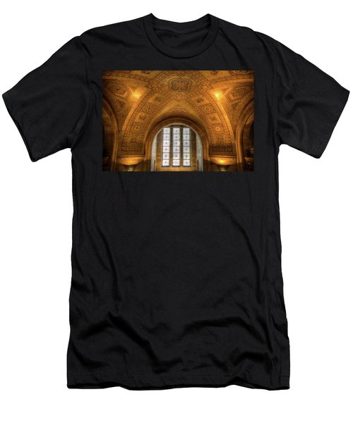 Rotunda Ceiling Royal Ontario Museum Men's T-Shirt (Athletic Fit)