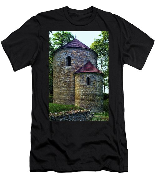 Men's T-Shirt (Slim Fit) featuring the photograph Rotunda  by Mariola Bitner