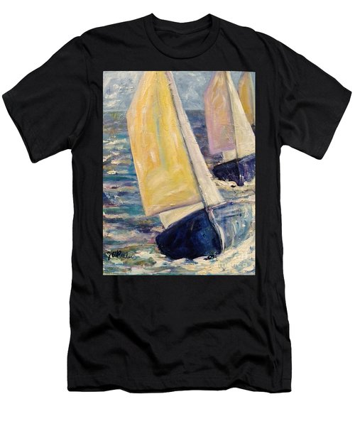 Rough Seas Men's T-Shirt (Athletic Fit)
