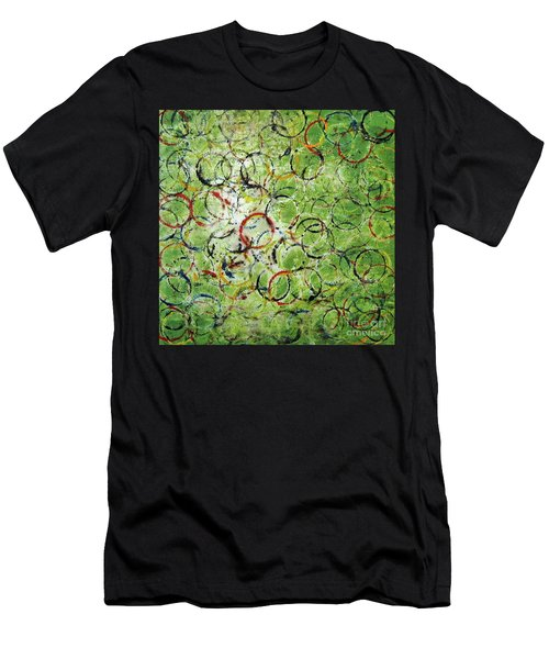Round About 2 Men's T-Shirt (Athletic Fit)