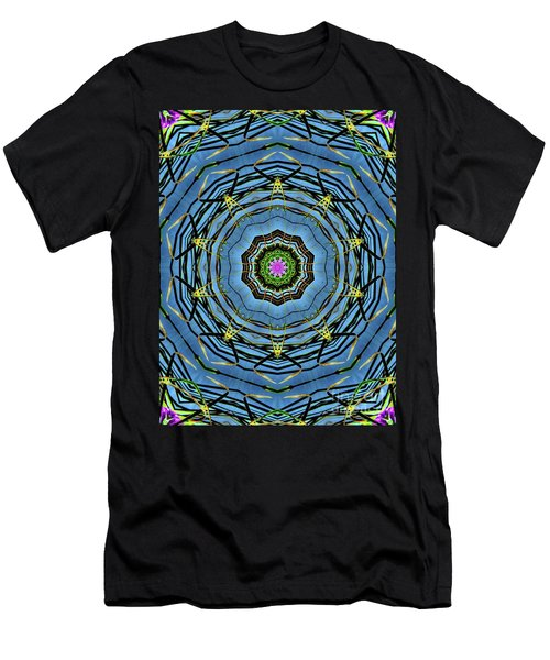 Round And Round  Men's T-Shirt (Slim Fit) by Christy Ricafrente