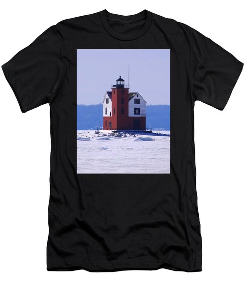 Round Island 2 Men's T-Shirt (Athletic Fit)