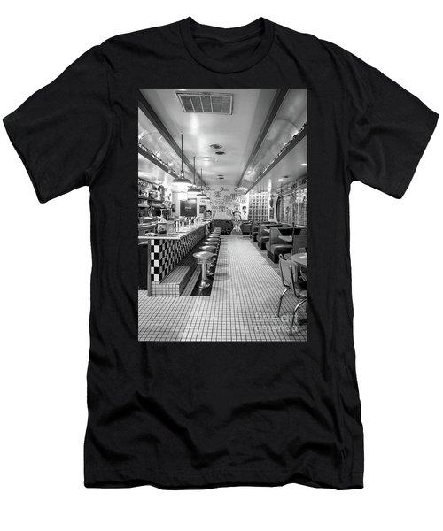 Route 66 Diner  Men's T-Shirt (Athletic Fit)