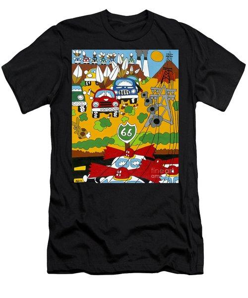 Route 66 Men's T-Shirt (Athletic Fit)