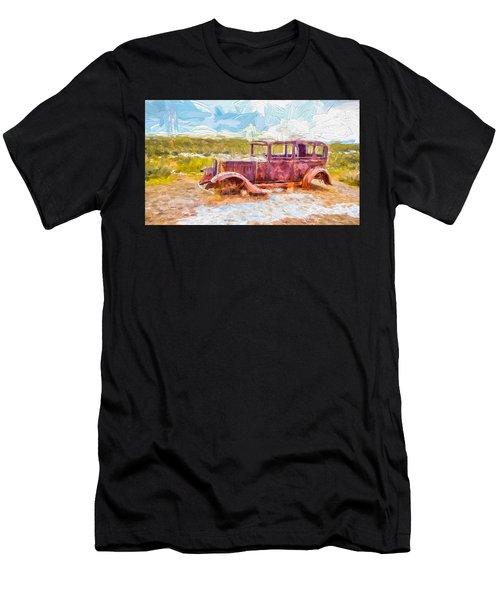 Route 66 Studebaker Men's T-Shirt (Athletic Fit)