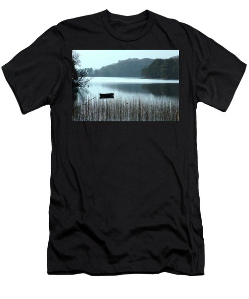 Rowboat On Muckross Lake Men's T-Shirt (Athletic Fit)