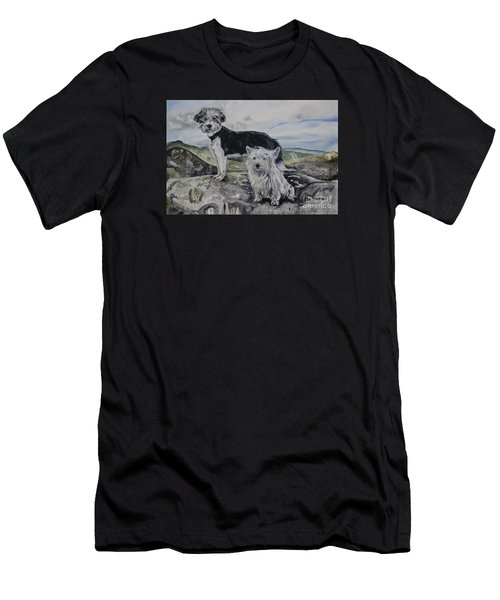 Roxie And Skye Men's T-Shirt (Athletic Fit)