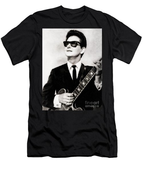 Roy Orbison, Legend Men's T-Shirt (Athletic Fit)