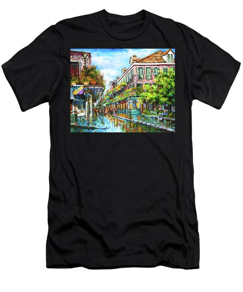 Royal At Pere Antoine Alley, New Orleans French Quarter Men's T-Shirt (Athletic Fit)