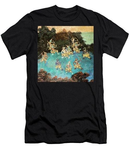 Royal Palace Ramayana 16 Men's T-Shirt (Athletic Fit)