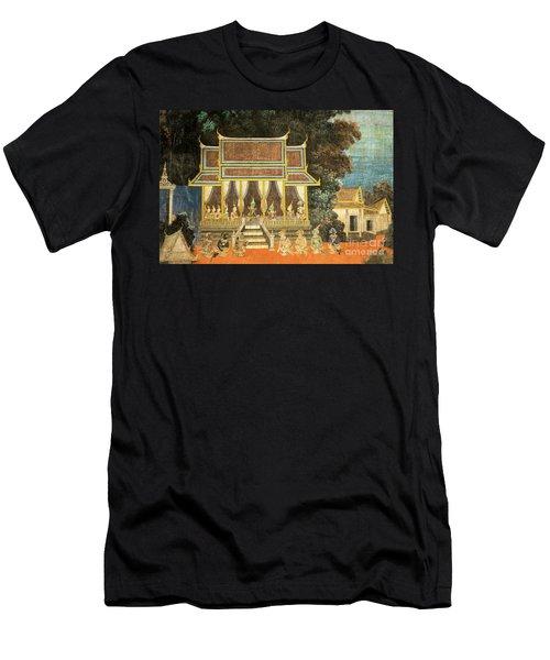 Royal Palace Ramayana 18 Men's T-Shirt (Athletic Fit)
